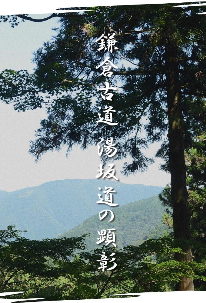 湯坂道の顕彰